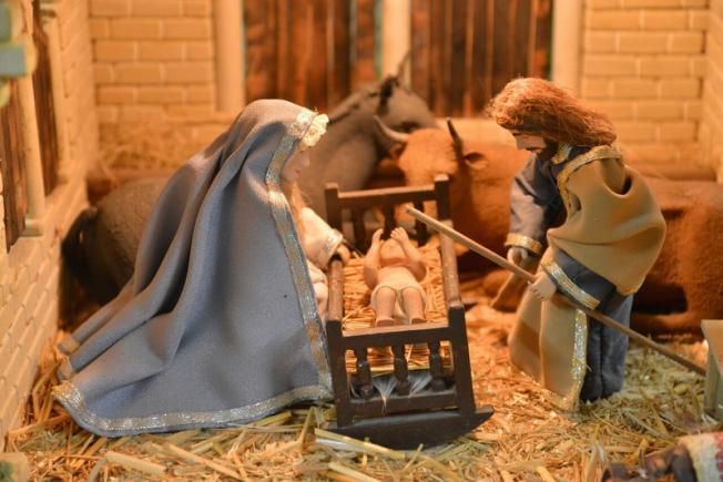 Nacimiento artesano de Cabañas Raras. (Foto: Quinito)