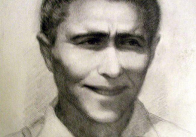 Uno de los pocos retratos que quedan de Manuel Girón.