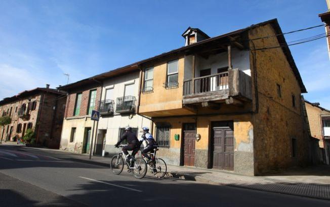 La casa donde tuvieron lugar los hechos del 5 de junio de 1945, en la actualidad. (Foto: César Sánchez)